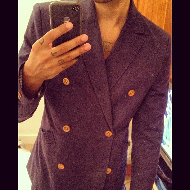 What I wore today. For about 45 minutes. #wiwt #ootd #fashion #tailoring #style #menswear