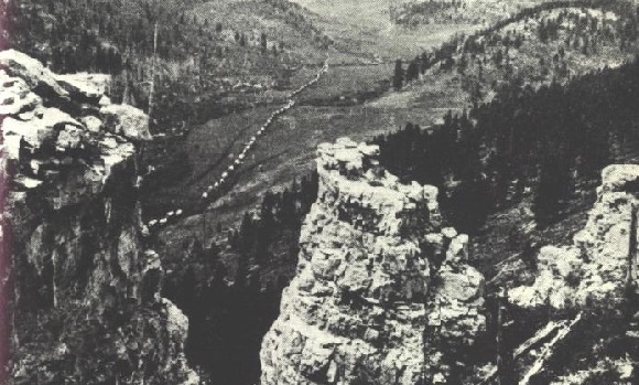 Custer Expedition of 1874 in the Black Hills, photo by William H. Illingworth, born September 20, 1844.