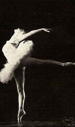 Ballerina Olga Ferri, born September 20, 1928.