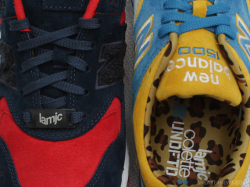 "UNDFTD x colette x LA MJC x New Balance MT580 + 1500 two pairs of sneakers coming from this huge collab. amazing suede uppers on these in contrasting colours. click here for more pics, and grab yours Oct. 13th Related articles La MJC x UNDFTD x colette x New Balance 1500 ""UCLA"" (sneakernews.com)"