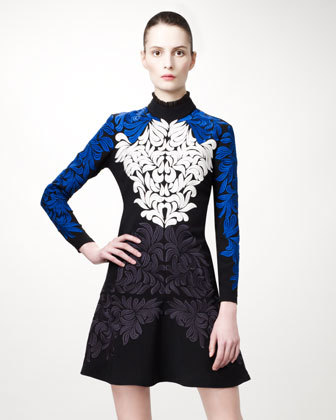 Obsession du Jour - Stella McCartney Damask-Embroidered Dress. $3770 at Neiman Marcus.