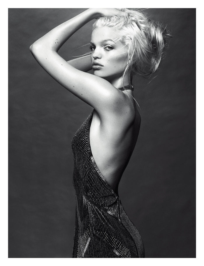 Daphne Groeneveld photographed by Greg Kadel for W Korea, October 2012
