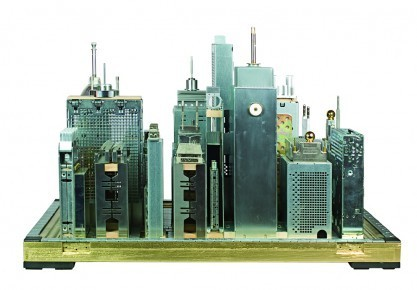 artstech:  Old Computer Parts Get Transformed Into Stunning Cityscapes And Skylines  (via Old Computer Parts Get Transformed Into Stunning Cityscapes And Skylines | The Creators Project)