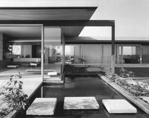 fkmodern: CASA SINGLETON Richard Neutra 1959