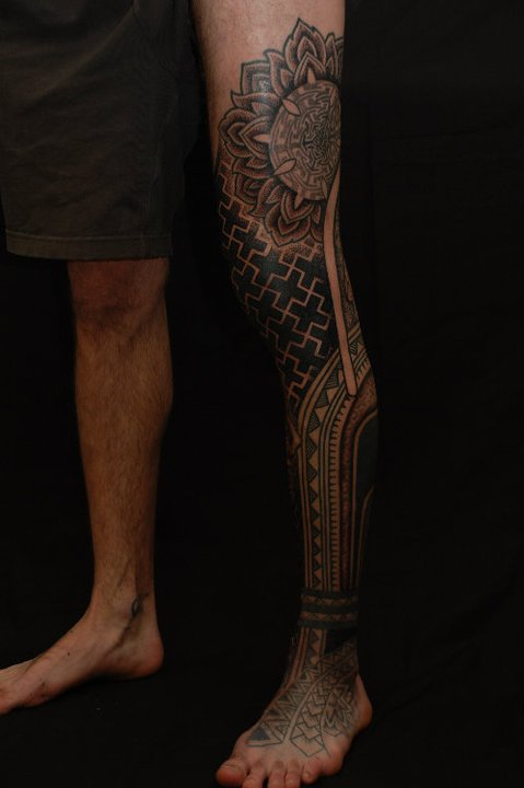 egonkey:  Gerhard Wiesbeck - Time Traveling Tattoo (Landshut, Germany)  Foreign tattoos are the best