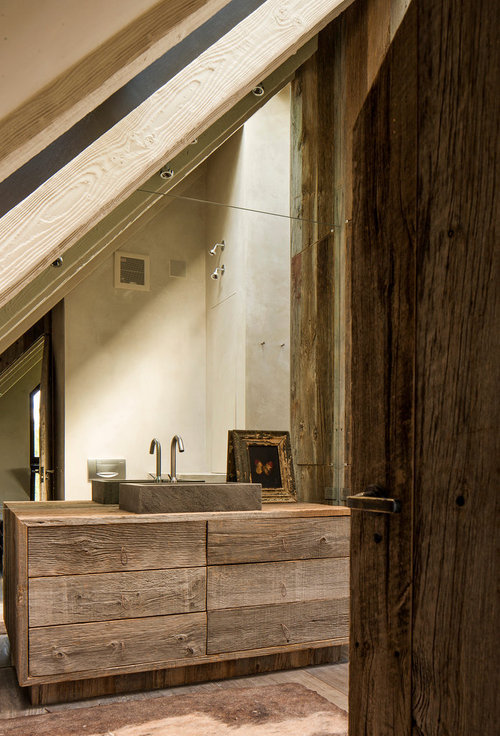 justthedesign:  The Timber Bathroom