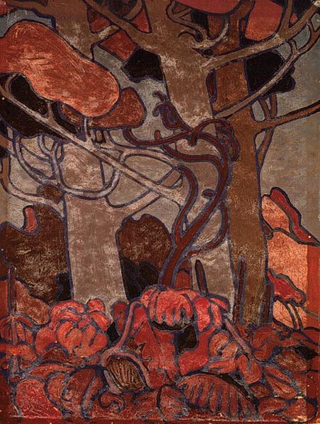 cavetocanvas:  Tom Thomson, Forest Undergrowth I, 1916