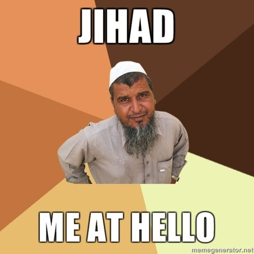 the ordinary muslim man loves a good pun [via]