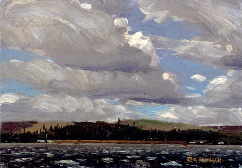 cavetocanvas:  Tom Thomson, White Caps, Smoke Lake, 1913