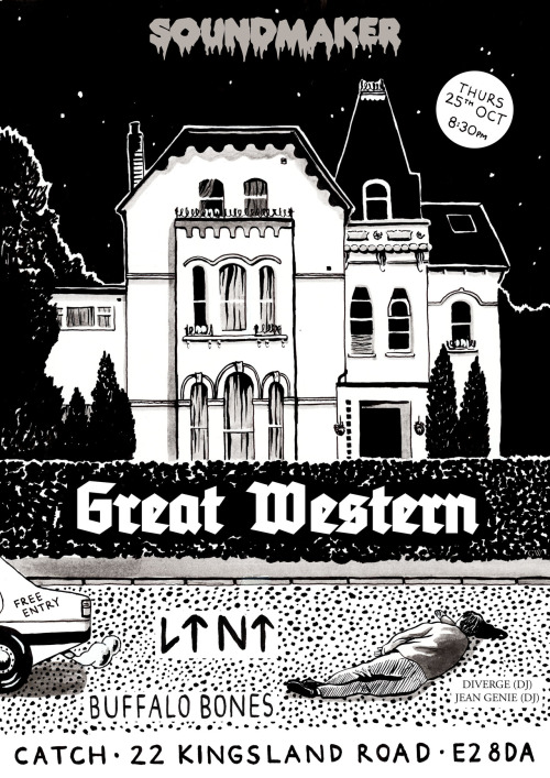 Great Western poster by Grace Wilson