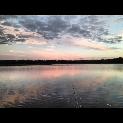 Why wasn't I doing this all summer? #gonefishing (Taken with Instagram at Short Beach)