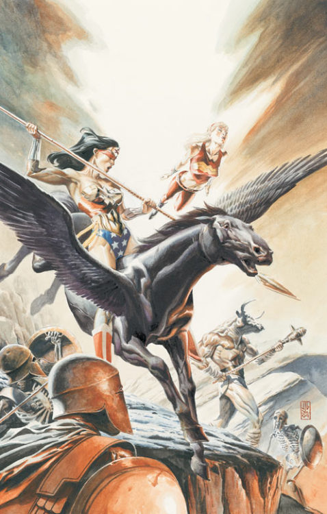 dcdatabase:  Wonder Woman Art by J.G. Jones