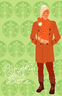 celestedoodles:  Pumpkin Spice Latte personified   My ideal boyfriend!
