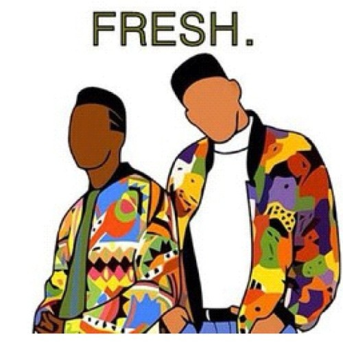 Fresh. #classic #fresh #djjazzyjeff  #freshprince #throwback (Taken with Instagram)