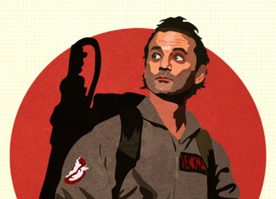 A quick Bill Murray illo.