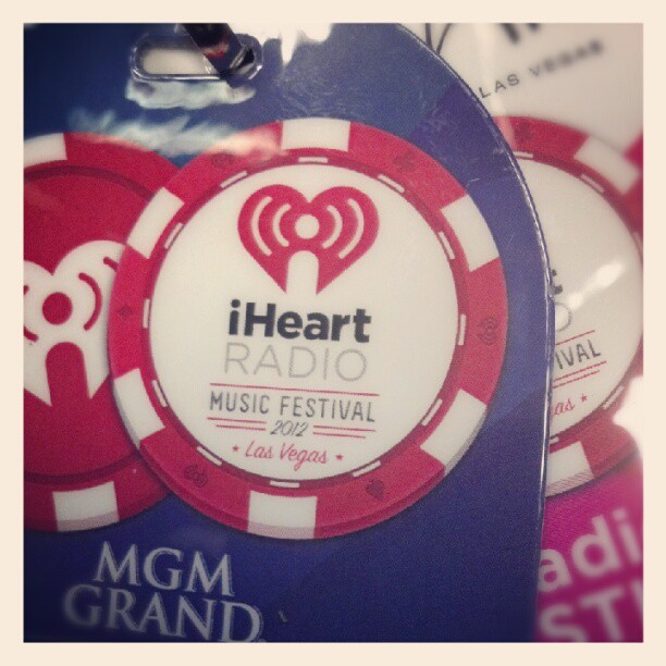 I heart radio credentials…its so on (Taken with Instagram)
