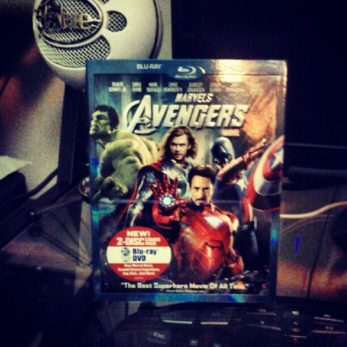 THE AVENGERS arrived today (Taken with Instagram)