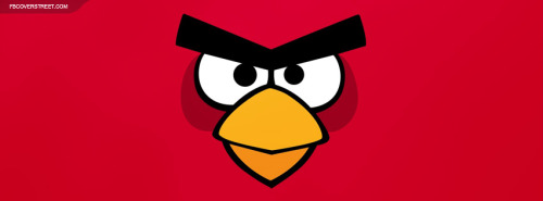 Angry Birds Super Red Bird Facebook Cover