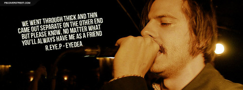 Eyedea and Abilities By The Throat Lyrics Facebook Cover