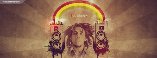 Bob Marley Speakers Facebook Cover