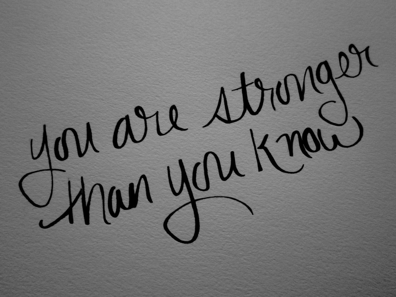 Keep strong girls!
