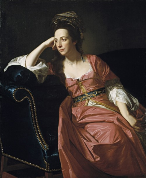 Portrait of Margaret Kemble Gage by John Singleton Copley (1771)