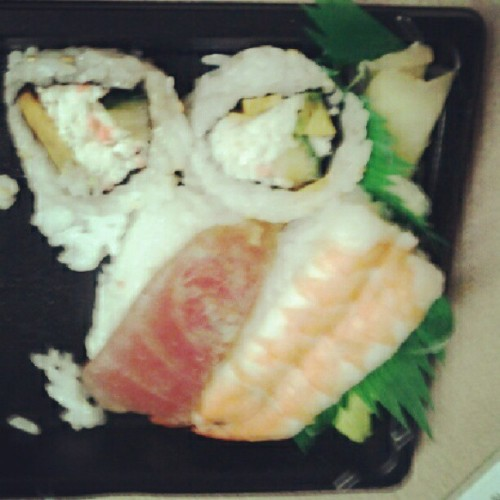 Sushi time (Taken with Instagram)