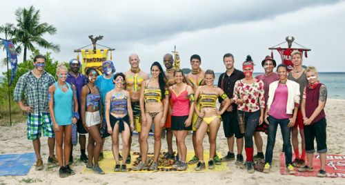 'Survivor' is back for a magical 25th season Zane Knight first one voted out!