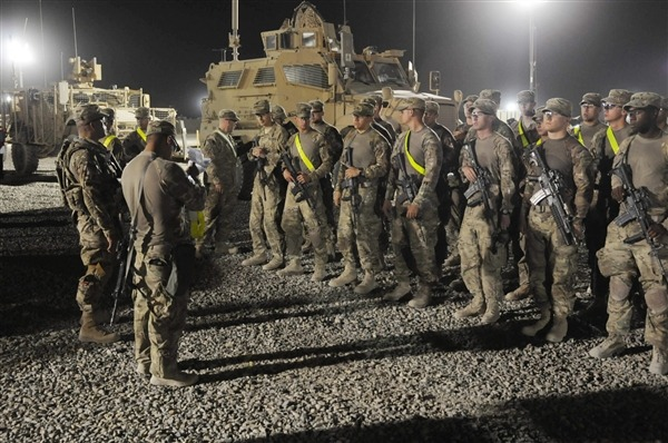 Last of 33,000 US surge troops leave Afghanistan (Photo: Staff Sgt. Michael Behlin / AP) Nearly two years after President Barack Obama ordered 33,000 more U.S. troops to Afghanistan to tamp down the escalating Taliban violence, the last of those surge troops have left the country, U.S. officials said Thursday. Read the complete story.