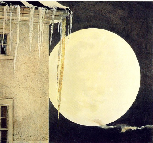 denisforkas:  Andrew Wyeth - Moon Madness. 1982