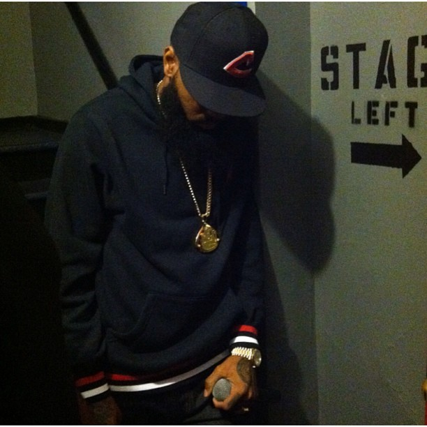 My brother @Stalley finna wreak. #BETMusicMatters | #Detroit (Taken with Instagram)