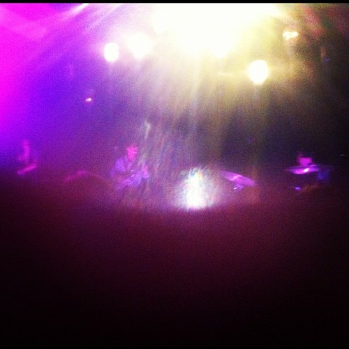 Indeterminate specks = Grizzly Bear (Taken with Instagram at 9:30 Club)