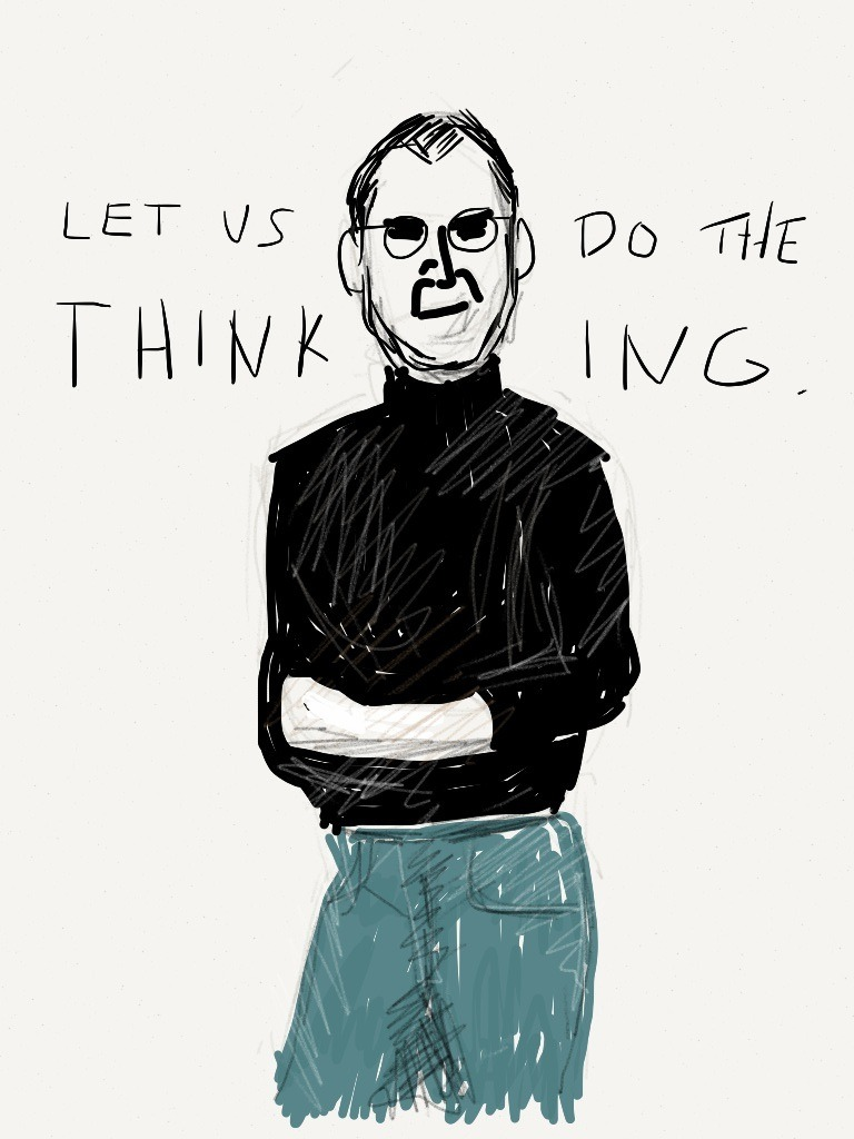 Steve Jobs. By Oyl Miller. 2012.