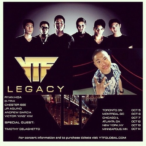 YTF Legacy Tour NOW featuring @traphik! #YTFLegacy (Taken with Instagram)
