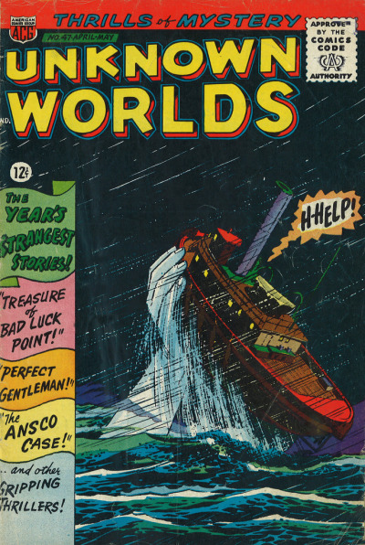Unknown Worlds comic - Best Syndicated Features (New York / USA; 1966)