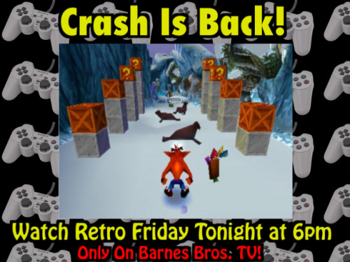 Watch Retro Friday tonight at 6pm only on Barnes Bros. TV!