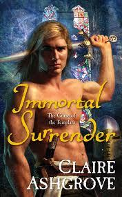 "Book: Immortal Surrender Author: Claire Ashgrove Series: The Curse of the Templars #2 Genre: Paranormal Romance Synopsis: Farran de Clare, loyal member of the cursed Knights Templar, wants nothing to do with predestined mates. Even the Almighty won't turn him into a fool again—he'd rather sacrifice his soul. Yet in the scientist Noelle Keane, a devout atheist, Farran meets the seraph designed for him. Ordered by the archangel Gabriel to protect Noelle, the possessor of a sacred relic that could give Azazel incredible power, Farran swears to do his duty—but in name only. Fighting an attraction that grows with each day, he's determined that he'll never pledge himself to her. As they war over her future, their mutual passion ignites a conflict far more damning. But before Noelle will agree to eternity with him, she demands the ultimate sacrifice – his heart. My Review: ""Immortal Surrender"" was a little slow to start relationship wise, but other than that this book was an amazing continuation of ""The Curse of the Templar's"" series. This is the ultimate paranormal romance; its got demon's, knights, angels, and predestined soul mates. Each of the Knights is being affected by the darkness that consumes their souls. Farran's darkness is causing him to be bitter and angry all the time, but when Noelle comes around Farren finds himself laughing once again. There were a few things that I didn't quite fully understand because I hadn't read the first book ""Immortal Hope"" but in no way did it affect the quality of this book. I had great pleasure in reading this book, and I found Farran and Noelle to be an incredibly amazing couple. They have a few rocky patches but all in all they make a great example of a real relationship. Claire Ashgrove has a true talent for writing, at times I found myself comparing ""Immortal Surrender"" to some of my favorite books. Farren and Noelle's story flowed nicely, and kept me gripping the pages eagerly waiting to see what happened next.  There is darkness each Templar Knight knows and feels. It is the overwhelming feeling of dread and the inkling feeling that their souls are withering away. Farran de Clare is one of the Knights and he is counting the days until his likely demise. He knows the darkness is consuming his heart and soul and is prepared to do anything for his fellow knights. The one thing he doesn't see coming is the appearance of his Seraph or predestined mate. Noelle doesn't believe in anything magical, she believes in what she can see and understand. But when Farren opens the door to a hidden society she can't believe her eyes. Noelle is the only one who can heal Farran's heart but will either of them be willing to let their feelings get the best of them? Originally Reviewed on Night Owl Reviews http://romance.nightowlreviews.com/nor/Reviews/Orangepeacock-reviews-Immortal-Surrender-by-Claire-Ashgrove.aspx"