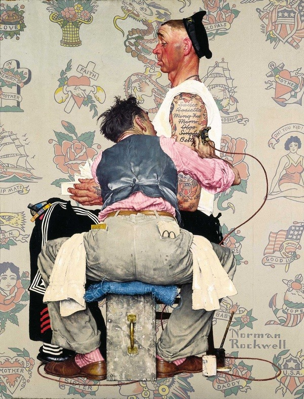 psychotic-art:  Norman Rockwell