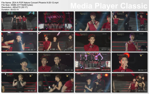 aznbombr1022:  ZE:A K-POP Nature Concert Phoenix 9-20-12 http://www.mediafire.com/?8trprsia7hycmrj - Mediafire IPod Touch & IPhone Ready Use Quicktime Player or Itunes to watch on the PC