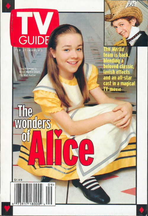 still-she-haunts-me-phantomwise:  Tina Majorino and Martin Short in Alice in Wonderland (1999) Flickr