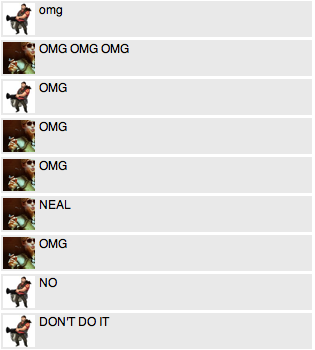 you can tell we're watching white collar just from what our chat is neal being ~tempted and blackmailed oh my gOD the actual best thing on the planet?