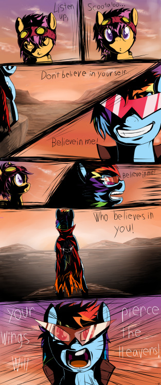 Believe in who believes in you! by ~Brony2you  HOLY SHIT.