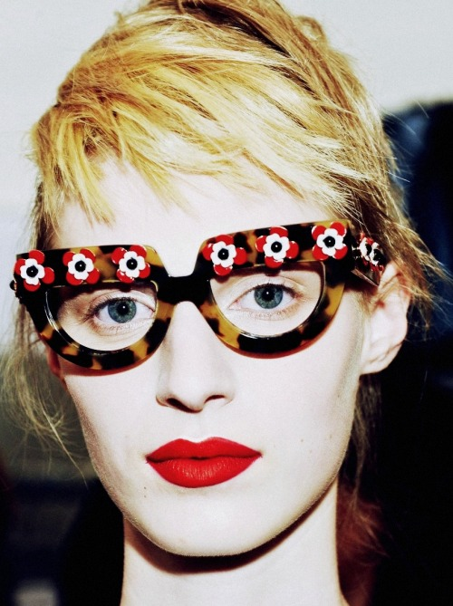 chakra9:  gethecool:  Julia Nobis @Prada S/S 2013  im crying she is so gorgeous