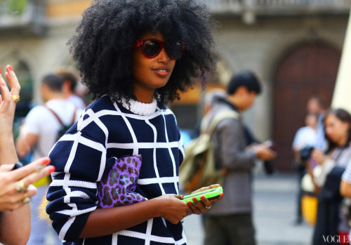 Milan Fashion Week Spring 2013 Street Style photographed by Phil Oh