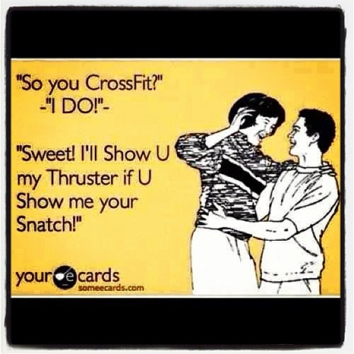 #CrossFit #Snatch #Thruster (Taken with Instagram)
