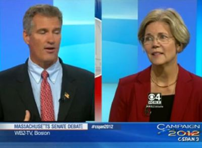 The face that Elizabeth Warren makes whenever Scott Brown talks is the absolute best. The best.