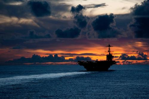 Check out this stunning photo of USS George Washington (CVN 73)!