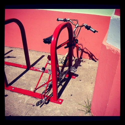 See what happens? 🚲 (Taken with Instagram at Haight street)