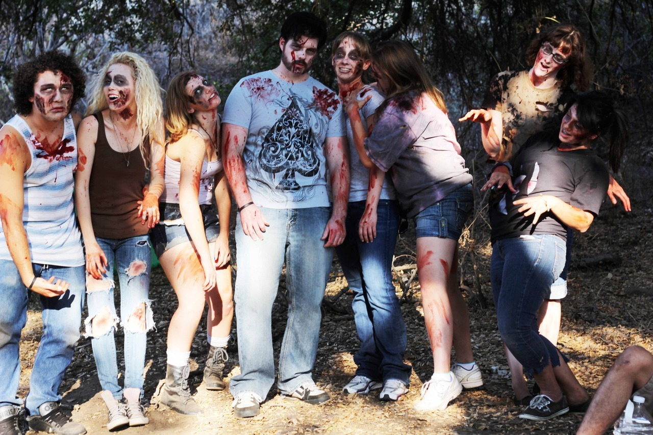 Some of the zombies for Depredation