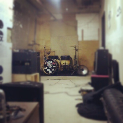 The practice pad  (Taken with Instagram)